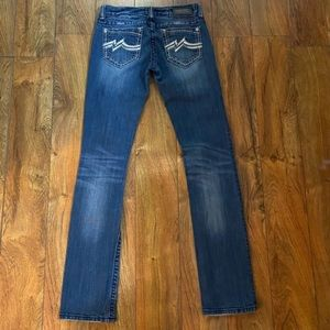 Beautiful Miss Me straight jeans